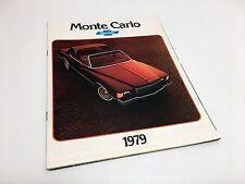 1979 Chevrolet Monte Carlo Brochure
