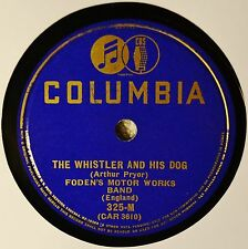 Foden's Motor Works Band The Whistler and His Dog 78 March Mill in the Dale Nice