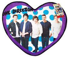 One Direction Throw pillow fleece.  Soft 1D Purple Dots heart Pillow USA ship