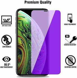 for iPhone 11 PRO Max / XS Max Anti-Blue Light Screen Protector Tempered Glass