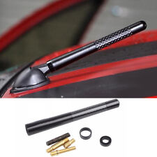 "For VW Volkswagen 2000-18 Car Mini Short AM / FM radio 4.7"" Carbon Fiber Antenna"