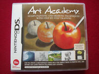 NINTENDO DS ART ACADEMY - STEP BY STEP TRAINING WITH PAINTING & DRAWING