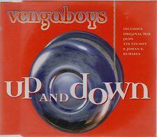 VENGABOYS - UP AND DOWN  Original 1999 U.K. Issue 3 track CD