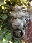 🇬🇧 Stone Garden Lion Face Head Wall Water Feature Fountain / Plaque 🦁💦