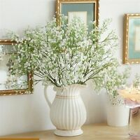 Elegant Artificial Gypsophila Floral Flower Fake Silk Wedding Party Home Decor