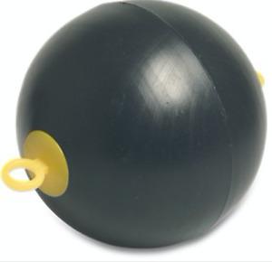 Schwimmkugel Ankerboje, Boje Ankerball Kunststoffkugel Schwimmerball