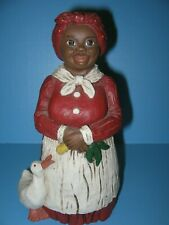 New ListingMartha Holcombe Vintage All God's Children Annie Mae and Duck Figurine #22 Resin
