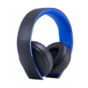 Soft Headband Earpod for Sony Gold Wireless PS3 PS4 7.1 CECHYA-0083 Headphone