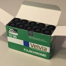 20 Rolls Velvia - Fuji Fujifilm Fujichrome Velvia 50 RVP 35mm Expired
