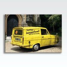 "ONLY FOOLS AND HORSES RELIANT REGAL VAN CANVAS TV Series Poster 30""x20"" CANVAS"