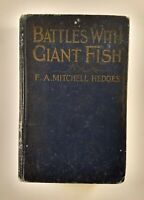 Battles With Giant Fish, by F.A. Mitchell Hedges, Illustrated Photographs, 1924