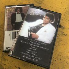 Thriller  Michael Jackson (Cassette, Sony) Off The Wall  Cassette Lot Set