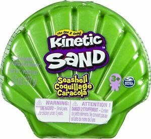 Kinetic Compounds Kinetic Sand Seashell Green
