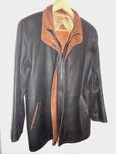 Remy Lite, Double Collar Leather Jacket  Woman's Size Small