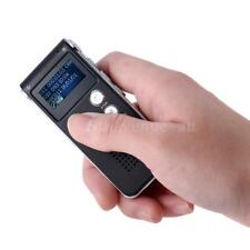 8GB Mini LCD USB Digital Rechargeable Audio Voice Recorder Recording Device