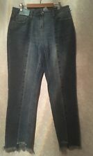 BNWT NEXT Jeans BOYFIT MIDRISE RIGID  SIZE 8 REGULAR L26""