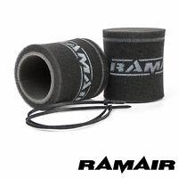 RAMAIR 2 X Carburatore Tromba Velocity Stack Calzino Filtri Aria 102mm Weber