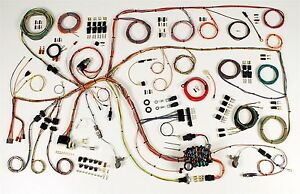 1960-64 Ford Falcon 1960-65 Comet American Autowire Wiring Harness Kit  510379