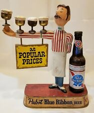 Old Original Pabst Blue Ribbon At Popular Prices Metal Beer Sign
