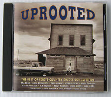 Various Artists Uprooted: Best of Roots Country Singers Songwriters CD Shanachie