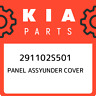 291102S501 Kia Panel assyunder cover 291102S501, New Genuine OEM Part