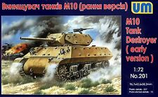 UM 1/72 201 WWII US M10 Tank Destroyer (Early Version)