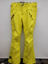 RIDE SNOWBOARD Men's Yellow Ski / Snowboard Pants - Size XL