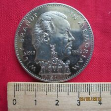 Republic of Liberia 1 Dollars 1993 - Willy Brandt 1913-1992