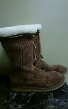 UGG Crochet  Insulated Winter Boots Size 7