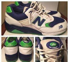 New Balance 580 Mens Sz 11.5 MT580T4 Rollbar Retro Green Blue White RARE!