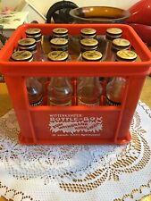 Wittenkamper Bottle Box Mini Crate 12 Empty Advertising Bottles Man Cave