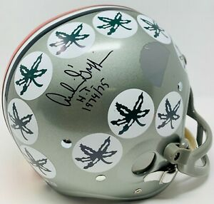 Archie Griffin Signed HT 1974/75 Full Size Throwback RK Riddell Helmet Fanatics