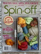 Spin-off Magazine Spring 2015 Blend Dye Ply Draft Wool Yarn Making