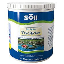 SÖLL Dr. Roths TeichKlar 3,0 kg Wasserpflege  für 60 000 Liter Teich Klar
