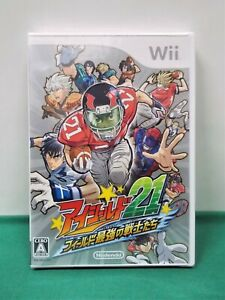 Nintendo Wii -- EYESHIELD 21 -- New!! American Football animation. Japan.48476