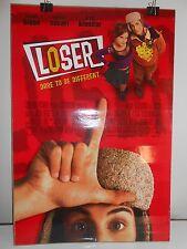 Loser (2000) Original Double Sided Movie Poster Jason Biggs Mena Suvari 27x40