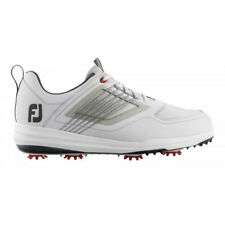New listing NEW Mens FootJoy 2019 Fury Golf Shoes 51100 White / Grey Size 8.5 WIDE
