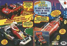 X0508 Gig Nikko - Go-Kart F.1 - Megatrophy - Pubblicità del 1994 - Vintage ads