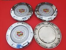 "4PCS New 07-14 CADILLAC ESCALADE COLORED Replacement"" WHEEL CENTER CAPS 9596649"