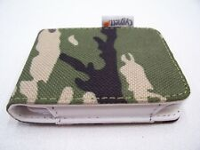 CYGNETT IPOD NANO 3G CASE FLIP COVER 3RD GEN CANVAS CAMO CAMOUFLAGE LEATHER