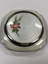 Evans Enamel Powder Box, 1900 s Excellent Condition Never used