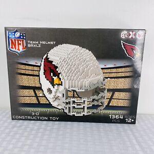 Arizona Cardinals NFL 3D BRXLZ Construction Toy Blocks Set - Helmet Box Damage