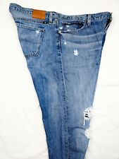 Lucky Brand Womens Sienna Slim Boyfriend Jeans Destroyed 7W13342-1 Size 10/30