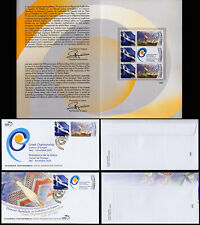 Greece 2020 Council of Europe Greek Chairmanship Numbered folder. FDC/Stamps