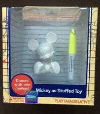 DISNEY Mickey Mouse As Stuffed Toy Mini Figure World Series 2 Design it Yourself