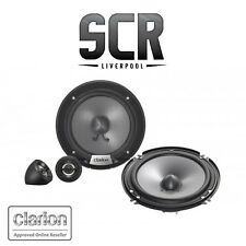 "Clarion SRG1623S 6.5"" Inch 350W 2 Way Component Speakers Australian Warranty"