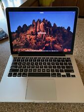 Late 2012 Macbook Pro 13 Inch
