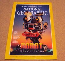 National Geographic Magazine July 1997 Robot/Roman Empire/Sumo/Grand Canyon