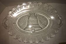 EAPG Liberty Bell Centennial Declaration Independence Platter