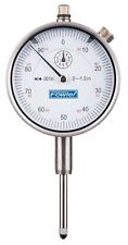 Fowler 52 520 110 0 52 520 110 Agd Dial Indicator White Face 1 Travel 0